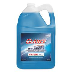 Glance Powerized Glass & Surface Cleaner, Liquid, 1 gal