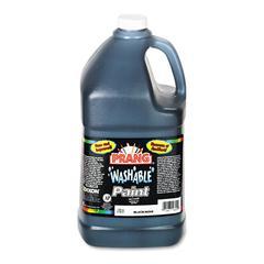 Washable Paint, Black, 1 gal