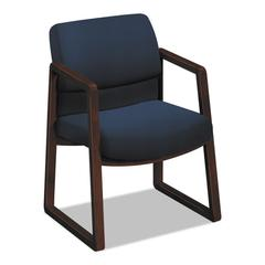 2400 Series Guest Chair, Navy, Fabric