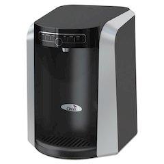 Aquarius Counter Top Hot N Cold Water Cooler, 13 1/4 dia. x 17 h, Black