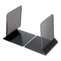 "Metal Mesh Bookends, 5 3/8"" x 6 3/4"", Black"