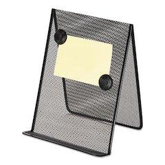Metal Mesh Document Holder, 9 x 8 5/8 x 11 3/8, Free Standing, Black
