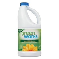 Chlorine Free Stain Remover & Bleach, 60oz Bottle, 8/Carton
