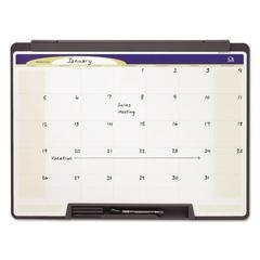 Motion Portable Monthly Calendar, Dry Erase, 24 x 18