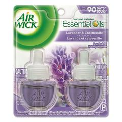 Scented Oil Refill, Lavender & Chamomile, 0.67oz, Purple, 2/Pack