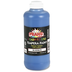 Prang Ready-to-Use Tempera Paint, Blue, 16 oz