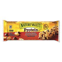 Protein Chewy Bar, Peanut Butter Chocolate, Box, 1.5 lb, 16 per box