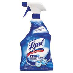 Disinfectant Bathroom Cleaners, Liquid, 32oz Bottle, 12/Carton