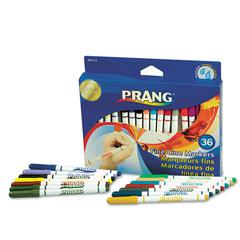 Prang Markers, Fine Point, 36 Assorted Colors, 36/Set
