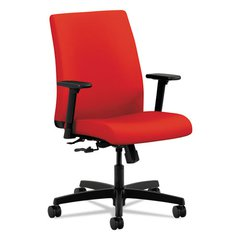 Ignition Series Low-Back Task Chair, Ruby