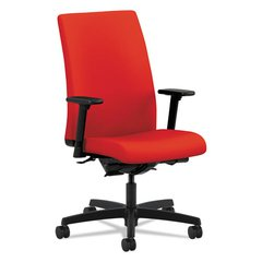 Ignition Series Mid-Back Work Chair, Ruby