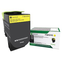 71B10Y0 Unison Toner, 2300 Page-Yield, Yellow