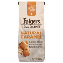 Coffee, Natural Caramel, 10 oz
