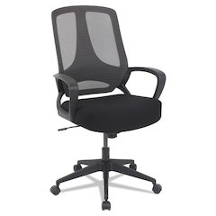 MB Series Mesh Mid-Back Office Chair, Black