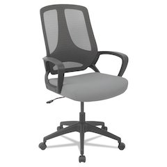 MB Series Mesh Mid-Back Office Chair, Gray/Black