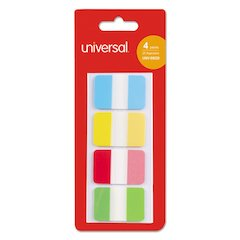 """Self Stick Index Tab, 1"""", Assorted Colors, 100/Pack"""