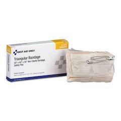"24 Unit ANSI Class A+ Refill, 40"" x 40"" x 56"" Muslin Triangular Bandage"