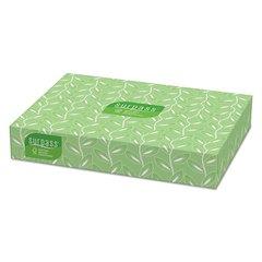 Facial Tissue, 2-Ply, 125 Tissues/Box, 60 Boxes/Carton