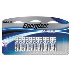 Ultimate Lithium Batteries, AAA, 12/Pack