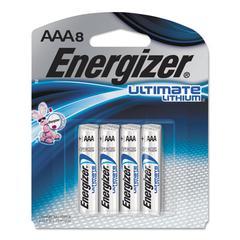 Ultimate Lithium Batteries, AAA, 8/Pack