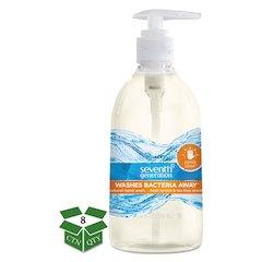 Natural Hand Wash, Purely Clean, Fresh Lemon & Tea Tree, 12 oz Pump Bottle, 8/CT