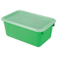 Cubby Bins, 12.2 x 7.8 x 5.1, Green, 6/PK