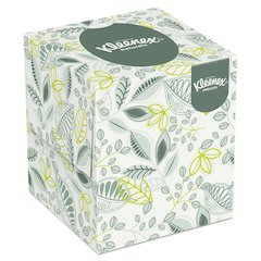 Naturals Facial Tissue, 2-Ply, White, 95/Box