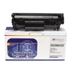 Dataproducts Remanufactured 0263B001AA (104) Toner, 2000 Page-Yield, Black