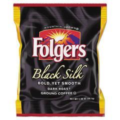 Coffee, Black Silk, 1.4 oz Packet, 42/Carton