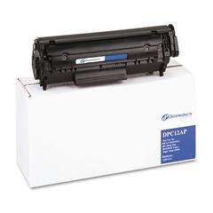 Remanufactured Q2612A (12A) Toner, 2000 Page-Yield, Black