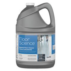 Floor Science Neutral Floor Cleaner Concentrate, Slight Scent, 1 gal, 4/Carton
