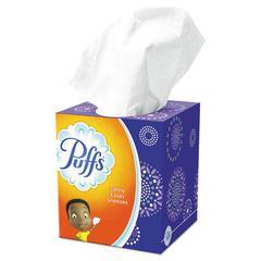 Facial Tissue, 2-Ply, White, 64 Sheets/Box, 24 Boxes/Carton