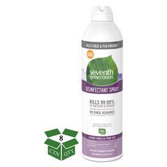 Disinfectant Aerosol Sprays, Lavender Vanilla/Thyme, 13.9 oz, Spray Bottle, 8/CT