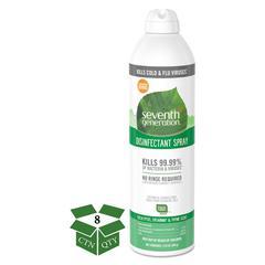 Disinfectant Aerosol Sprays, Eucalyptus/Spearmint/Thyme, 13.9 oz, Spray, 8/CT
