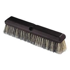 "Vehicle Wash Brush, 2 1/2"" Gray Plastic/Polystyrene Bristles, 14"" Brush"