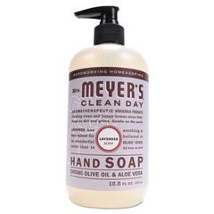 Clean Day Liquid Hand Soap, Lavender, 12.5 oz, 6/Carton