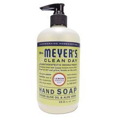 Clean Day Liquid Hand Soap, Lemon, 12.5 oz, 6/Carton