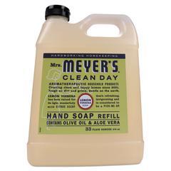 Clean Day Liquid Hand Soap, Lemon, 33 oz, 6/Carton
