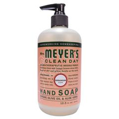 Clean Day Liquid Hand Soap, Geranium, 12.5 oz, 6/Carton