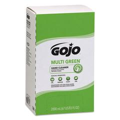 MULTI GREEN Hand Cleaner Refill, 2000mL, Citrus Scent, Green, 4/Carton