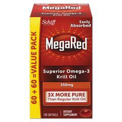 Omega-3 Krill Oil Softgel, 120/Bottle