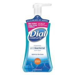 Antibacterial Foaming Hand Wash, Original Scent, 7.5oz Pump Bottle, 8/Carton