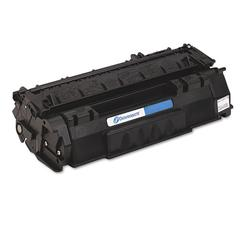 Remanufactured Q7553A (53A) Toner, 3000 Page-Yield, Black