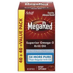 Extra Strength Omega-3 Krill Oil Softgel, 80 Softgels
