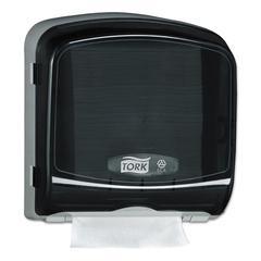 "Multifold Hand Towel Dispenser, Plastic, 12.36"" x 5.18"" x 13"", Smoke/Gray"