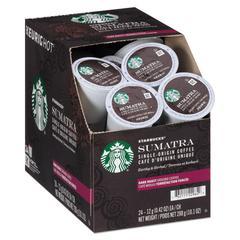 Sumatra Coffee K-Cups, Sumatran, K-Cup, 24/Box