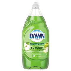 Ultra Antibacterial Dishwashing Liquid, Apple Blossom Scent, 41 oz Bottle