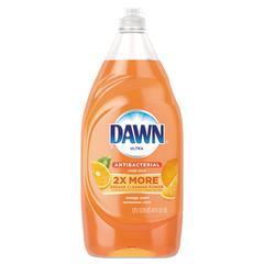 Ultra Antibacterial Dishwashing Liquid, Orange Scent, 41 oz Bottle