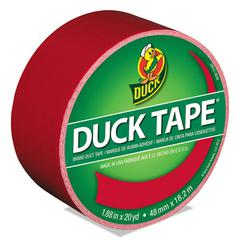 "Colored Duct Tape, 9 mil, 1.88"" x 20 yds, 3"" Core, Red"