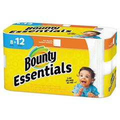 Essentials Paper Towels, 2-Ply, 60 Sheets/Roll, 8 Rolls/Carton
